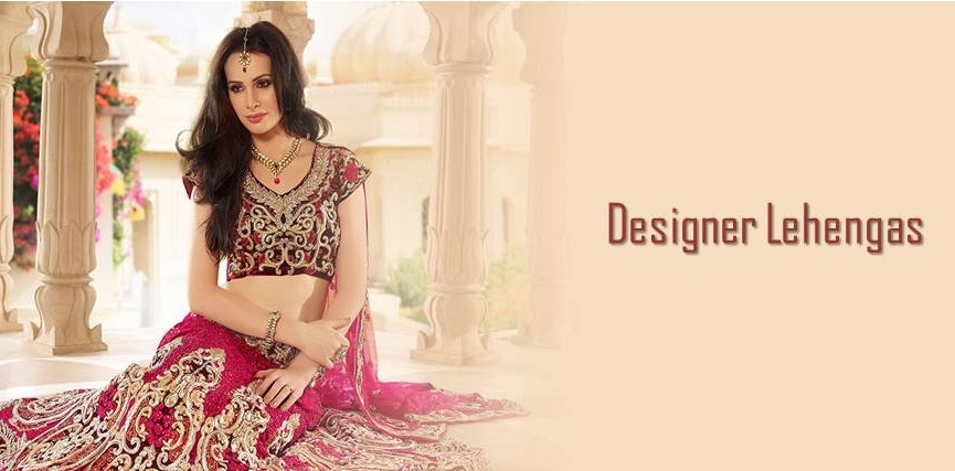 there are so many designer lehengas online in india which come in